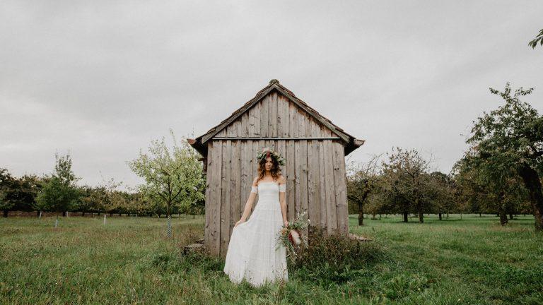 Hochzeitsfotograf Nürnberg Braut Boho